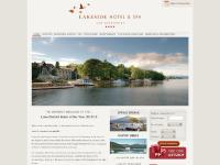 Hotels in the Lake District, Lakeside Hotel, Lake Windermere UK