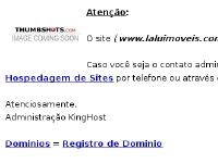 laluimoveis.com KingHost, Hospedagem de Sites, Dominios