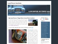 landroverauctions.co.uk land rovers for sale, buy land rovers, used land rovers