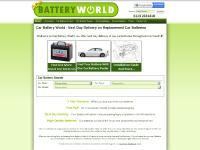 Car Battery World - Car Battery World - Next Day Delivery on Replacement Car Batteries