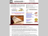 Last Will and Testament Forms at LastTestamentWill.com