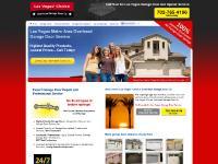 Las Vegas, NV Garage Doors and Openers | Las Vegas Overhead Garage Door Repair, Service