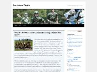 Lacrosse Posts | An online community for players, coaches, parents, and fans of lacrosse
