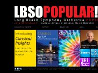 lbso.org Concerts & Tickets, NEW! Sunday Matinees, Sounds & Spaces
