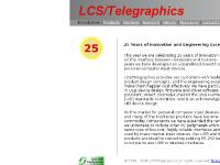 LCS/Telegraphics - Home