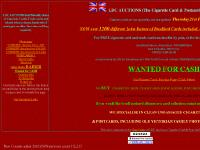 ldcauctions.com Homepage, CURRENT Auction lots 1-1