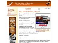 Piano Lessons For Beginners And Beyond