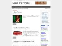Learn Play Poker
