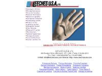 LEECHES U.S.A. LTD.-300 SHAMES DRIVE, WESTBURY, NY 11590 - PHONE: 516-333-2570 - Home Page
