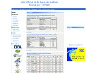 Ligue Football Tlemcen Accueil