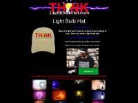light bulb hat