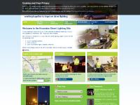 Information, Questionnaire, Report a faulty street light, interactive maps