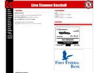 limashawneebaseball.com Shawnee Indians Baseball, Lima Shawnee, Lima