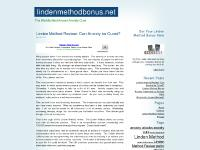 lindenmethodbonus.net linden method, linden method review, anxiety cure