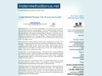 lindenmethodbonus.net linden