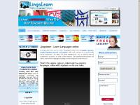 Homepage, Learn English, Learn Spanish, Learn Arabic