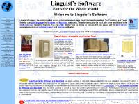 Welcome to Linguist's Software