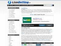 Live Betting – Best In-Play Wagering & Live Sports Betting Sites