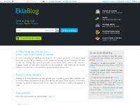 Créer un blog, gratuit, faire un blog - EklaBlog