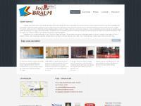 lojasbraum.com.br Cortinas, Persiana de tecido, Persiana de aluminio