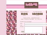 :: Loliboli Design Personalizado - compre convites, lembrancinhas, presentes personalizados,