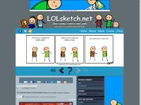 lolsketch.net funny, lol, webcomic