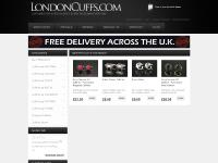 UK Cufflinks for men with free delivery from Londoncuffs.com
