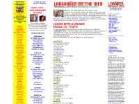 LANGUAGES ON THE WEB - THE ONE AND ONLY WEB SITE TO LEARN FOREIGN LANGUAGES ONLINE