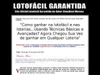 12 Vídeos Loterias, 7 Vídeos Lotofácil, 5 Vídeos Loterias, concursos