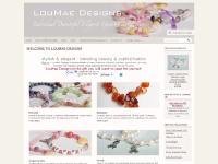 loumaedesigns Handmade gemstone jewellery bracelets and necklaces elegant and bespoke