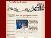 Card Poems Verses Quotes, free online and printable