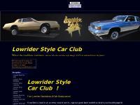 Lowrider Style Car Club @ lowriderstylecarclub.com - A Bravenet.com Hosted Site