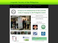 lsphil.org linguistic, linguistics, Philippines