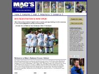 macssoccerschool.com Camp Info, Staff, FAQs/Forms