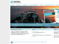 maersklinelimited.com liner shipping, ocean transportation, ship management