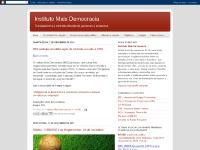maisdemocracia.blogspot.com Início, O contexto da criação, Nosso documento político