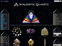 majestic-quartz.com Cathedrals Elestials Included Quartz Rose Quartz Tumbled Stones Amethyst Polished Smoky Quartz Other Quartz Types Quartz Configurations Natural Citrine Hanging Crystals Laser Wands Minerals Jewelry Crystal Healing Kits SALE! ecommerce, open source, shop