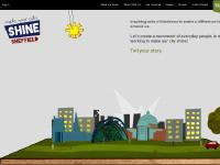 makeyourcityshine.co.uk Who's with us, Get involved, Videos
