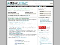 Shop in Philly: Look up Shopping Malls - Find Sales & Events Happening in Philadelphia | MallsInPhilly.com