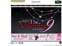 mannsjewelers.com SHOPPING BAG, ENGAGEMENT, MJ COLLECTIONS