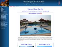 Manora Village Hua Hin, Luxury Hua Hin Villas, Hua Hin Property, Thailand Property, Hua Hin Real Estate, Hua Hin Holiday Homes, Hua Hin Holiday Resorts from Manora Property Hua Hin Thailand