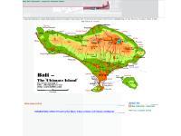 Map Bali Indonesia - maps bali Paradise Island