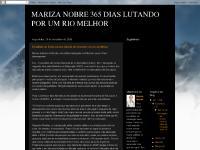 MARIZA NOBRE 365 DIAS LUTANDO POR UM RIO MELHOR
