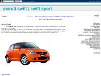 MARUTI SWIFT | SWIFT SPORT