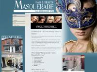 masqueradehairandbeauty.co.uk hairdresser, beauty salon, hair and beauty
