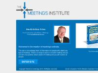 The Master of Meetings - David Julian Price