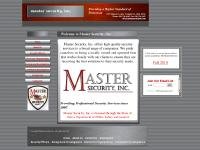 Ohio, Security Servcies, Locally owned and Operated, Master Security