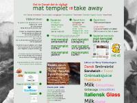 mat templet - take away - Det är Dansk det är dejligt , Dansk fläskstek från en äkta dansk