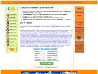 Math-Mate - free math maths mathematics help lessons tutorials
