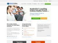 mathsonline.com.au How it Works, For Parents, For Teachers